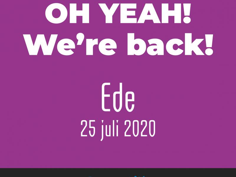 Ook a.s. zaterdag 1 augustus open in Ede!